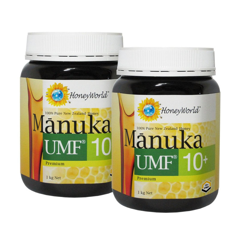 Premium Manuka UMF10+ 1kg Bundle of 2