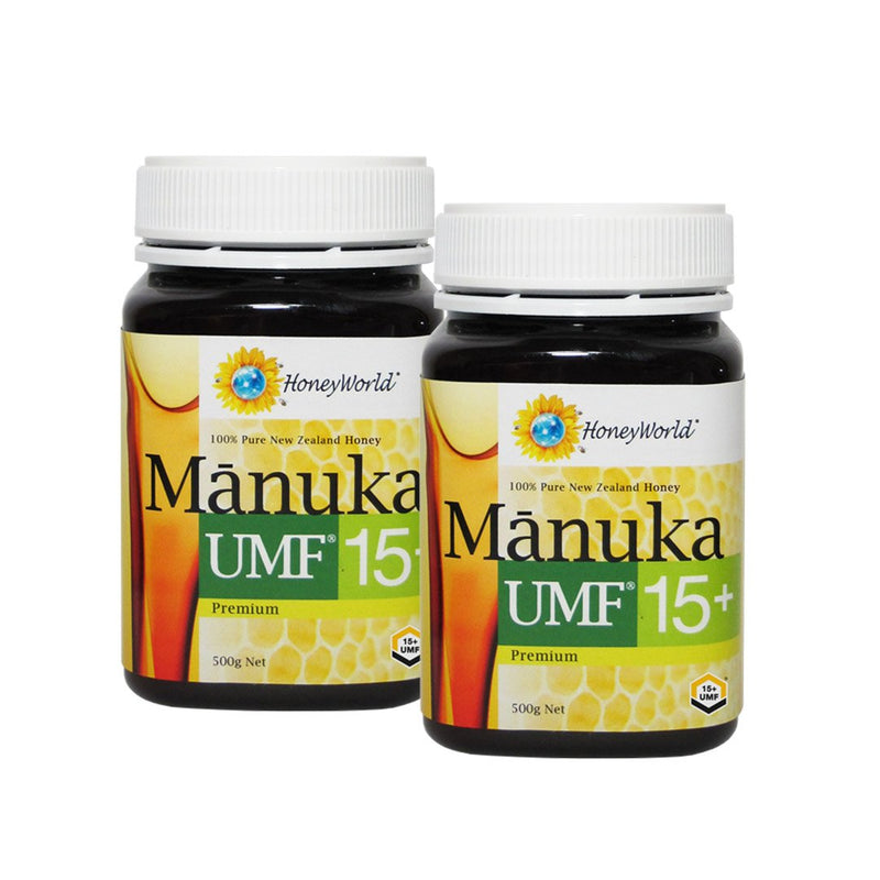 Premium Manuka UMF15+ 500g Bundle of 2