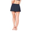 UPF50+ Swim Skorts in Black