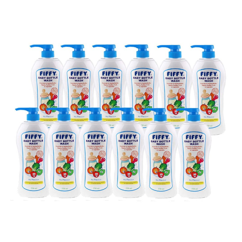 Bottle Wash No Flavour 750ml (Carton Deal)
