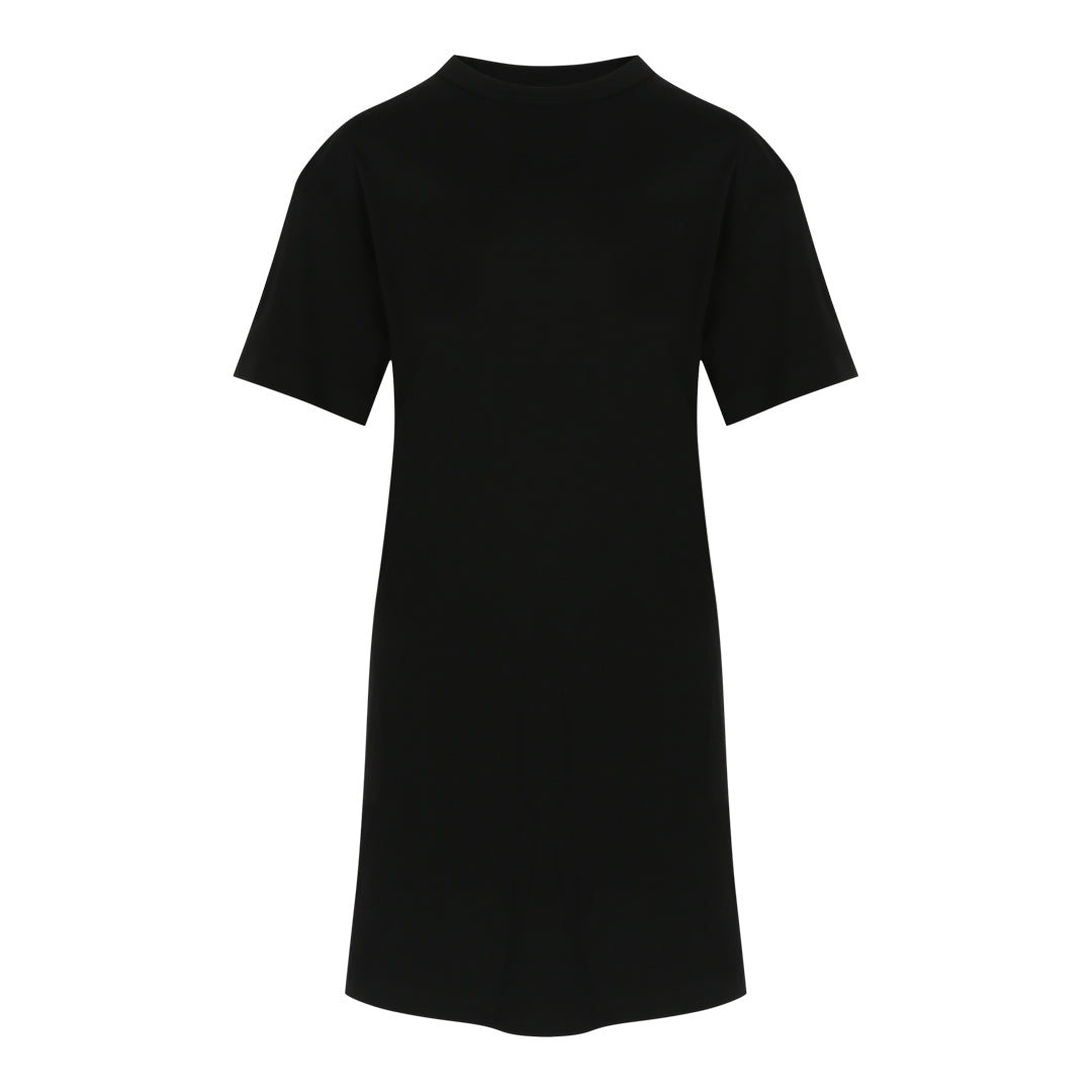 T-Shirt Dress (Black)