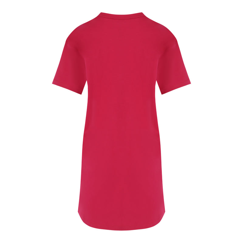 T-Shirt Dress (Raspberry)