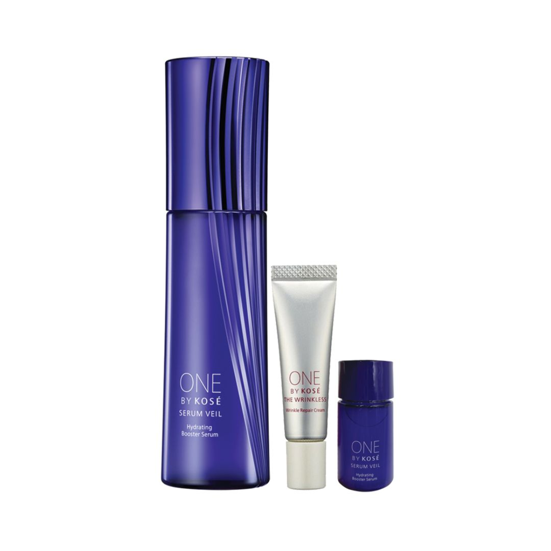 ONE  BY  KOSÉ Serum Veil Limited Kit (Large Size)