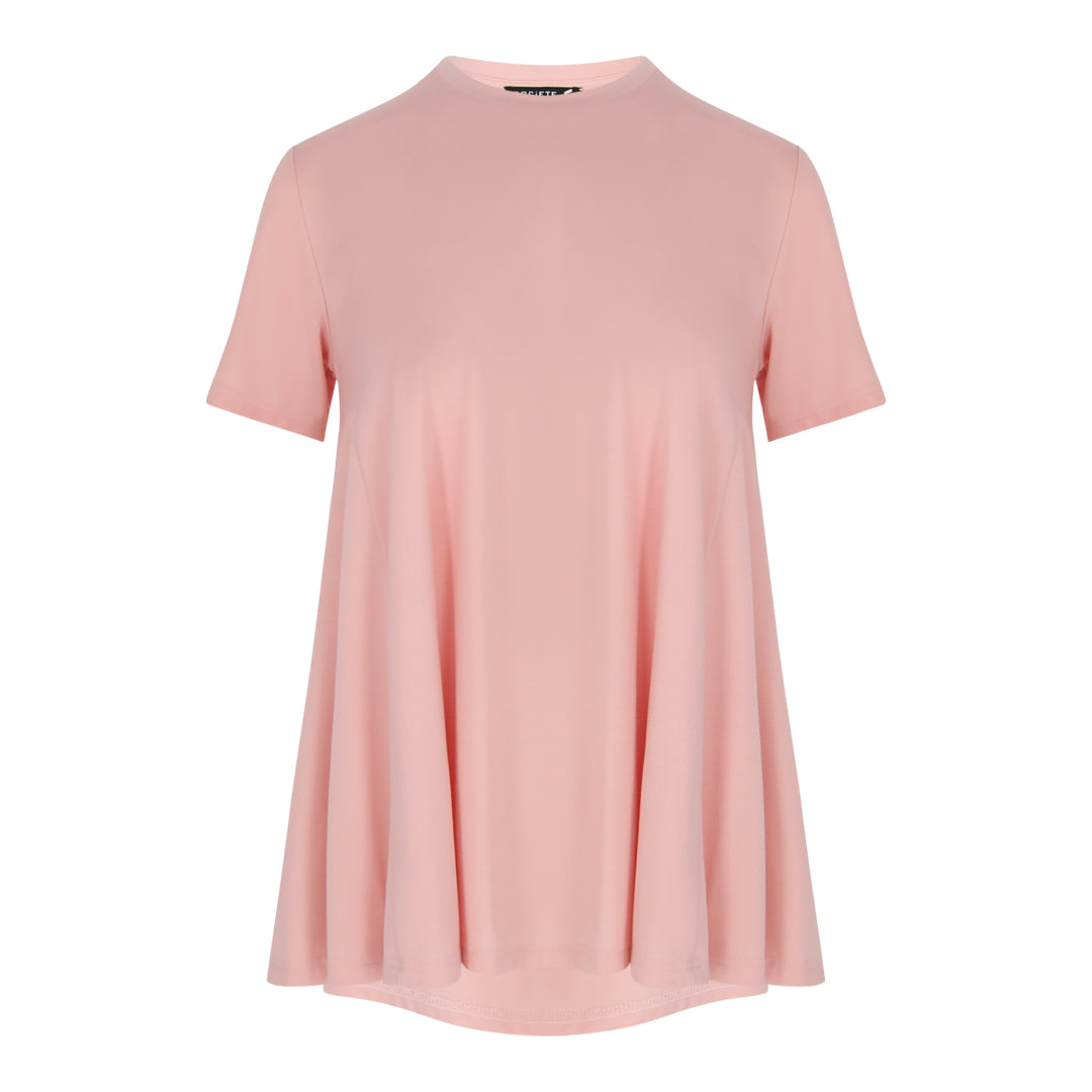 Jersey A Line Top (Pink)