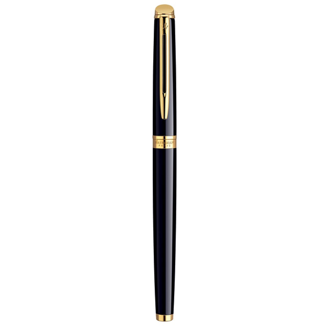 Hemisphere 10 Laque Black GT Fountain Pen