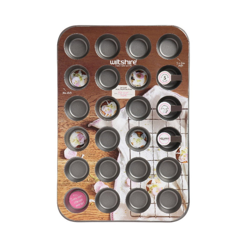 Two Toned 24 Cup Muffin Pan (Pink)