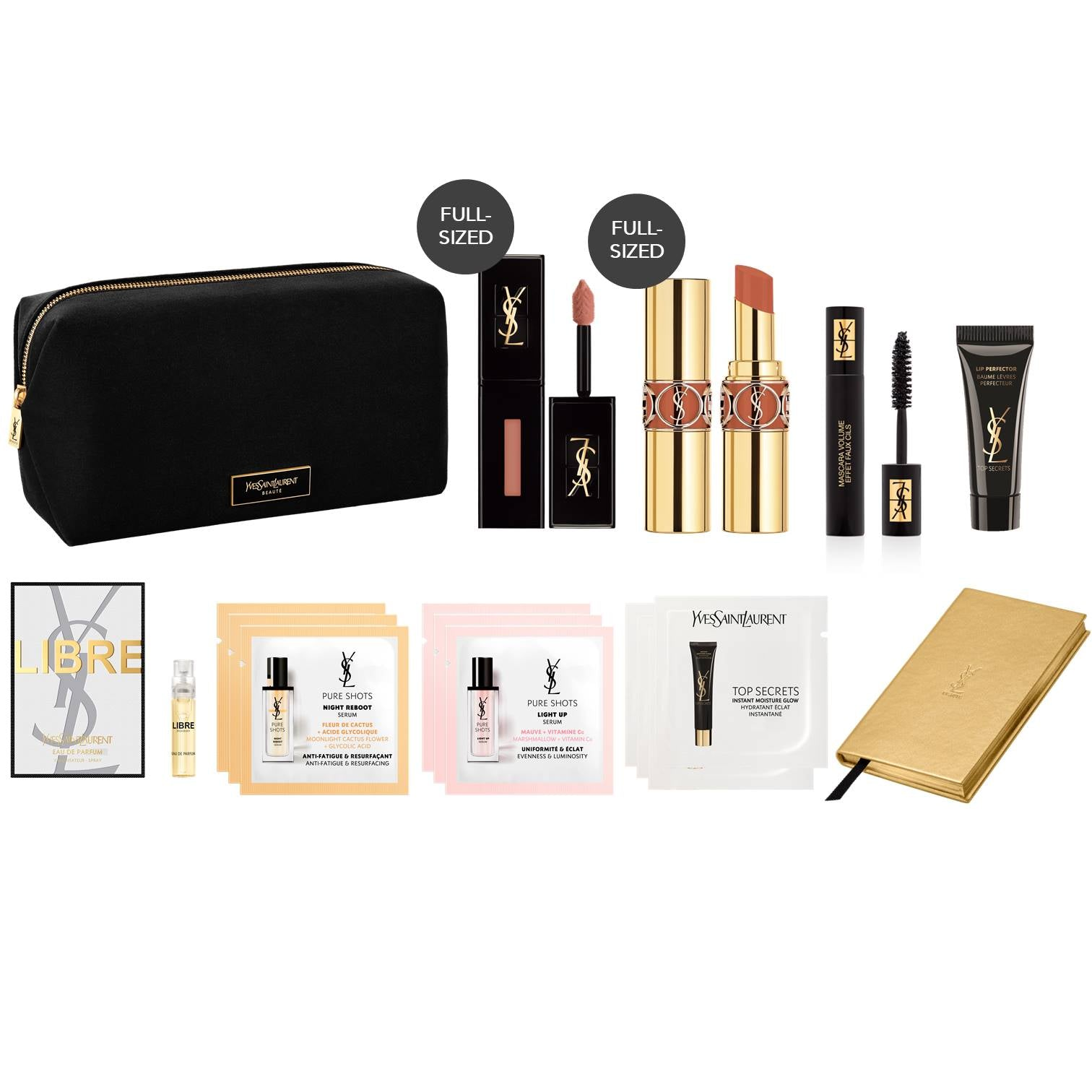 BEAUTY CURATES presents YSL Beauty (worth $220)