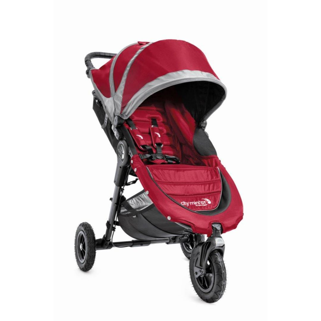 City Mini GT Single Baby Stroller (Red)