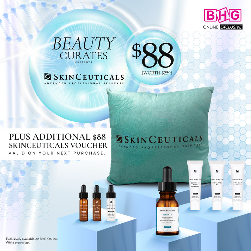 BEAUTY CURATES presents SkinCeuticals (worth $259)
