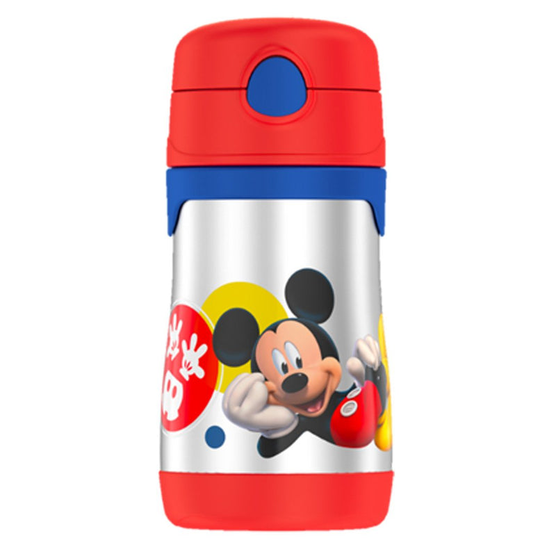Mickey Mouse Foogo Straw Bottle 0.3L