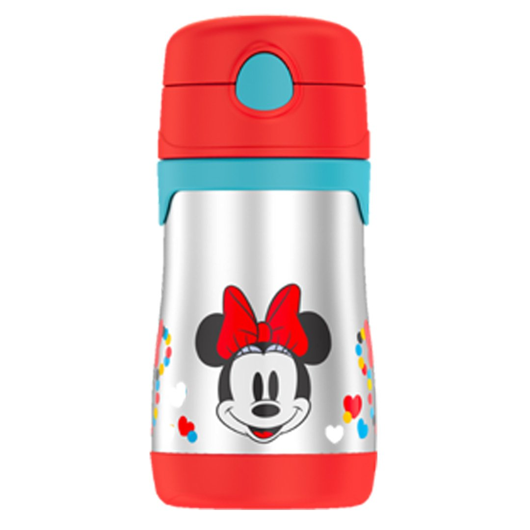 Minnie Mouse Foogo Straw Bottle 0.3L