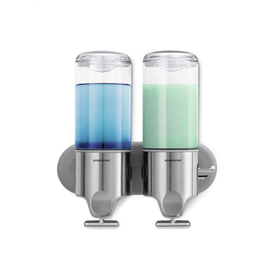 Double Wall Mount Soap Dispenser
