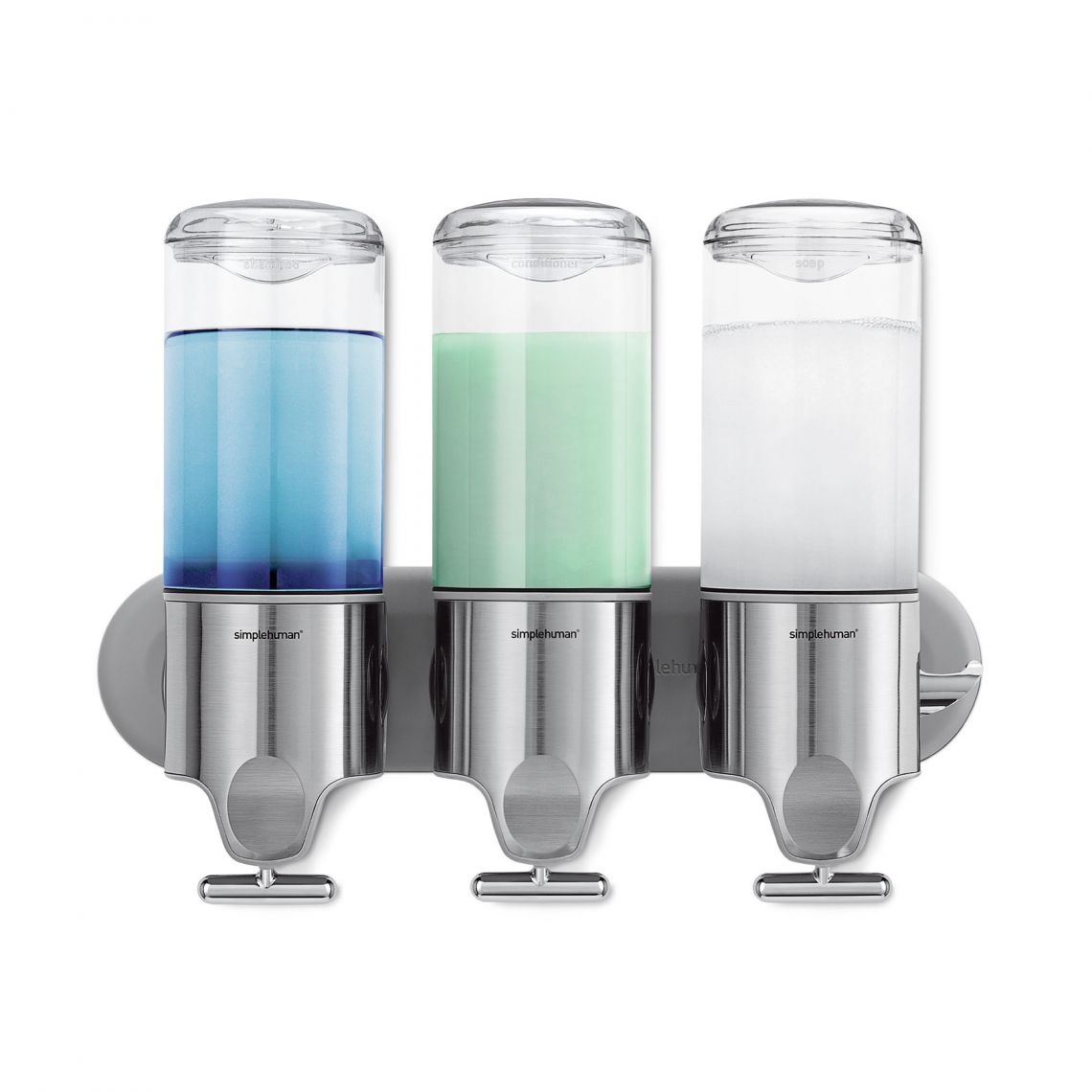 TripleWall Mount Soap Dispenser