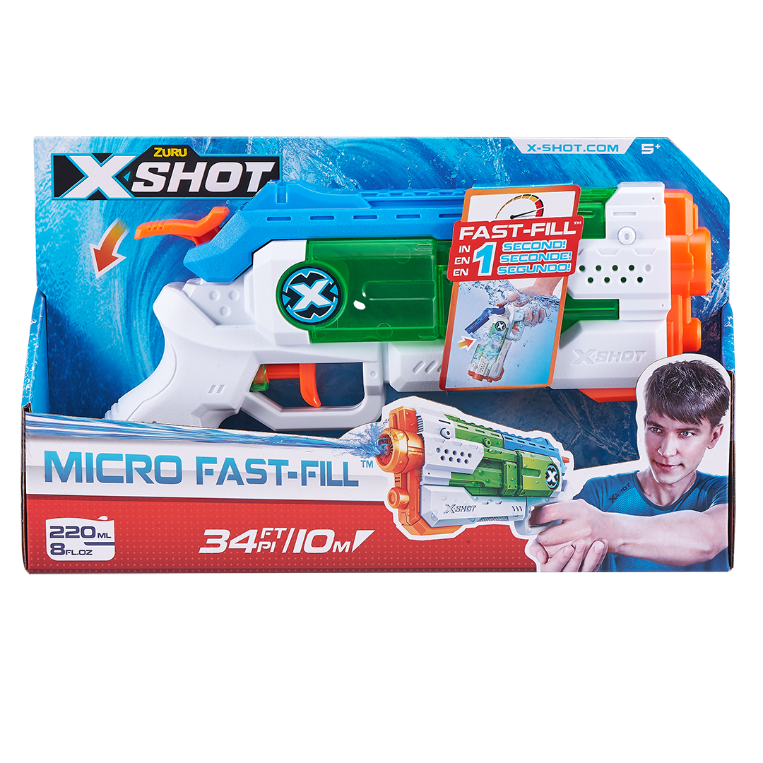 FAST-FILL WATER WARFARE - Micro Water Blaster