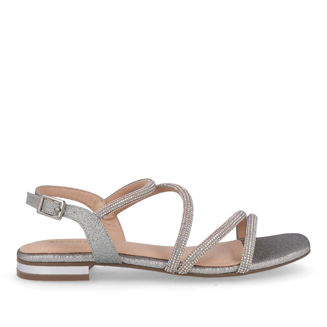 Bertiolo Sandals (Silver)