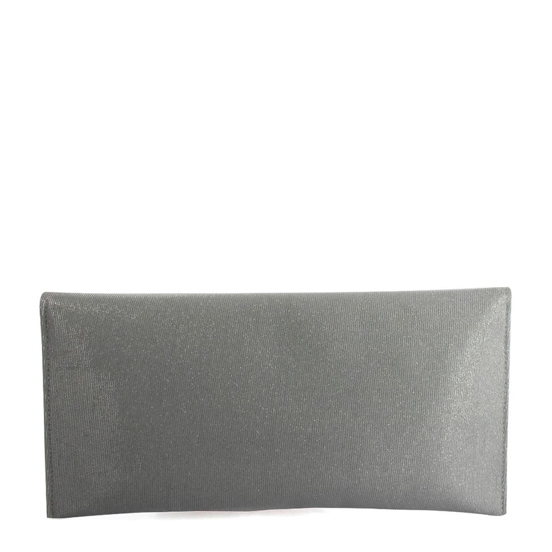 Long Rectangle Clutch (Silver)