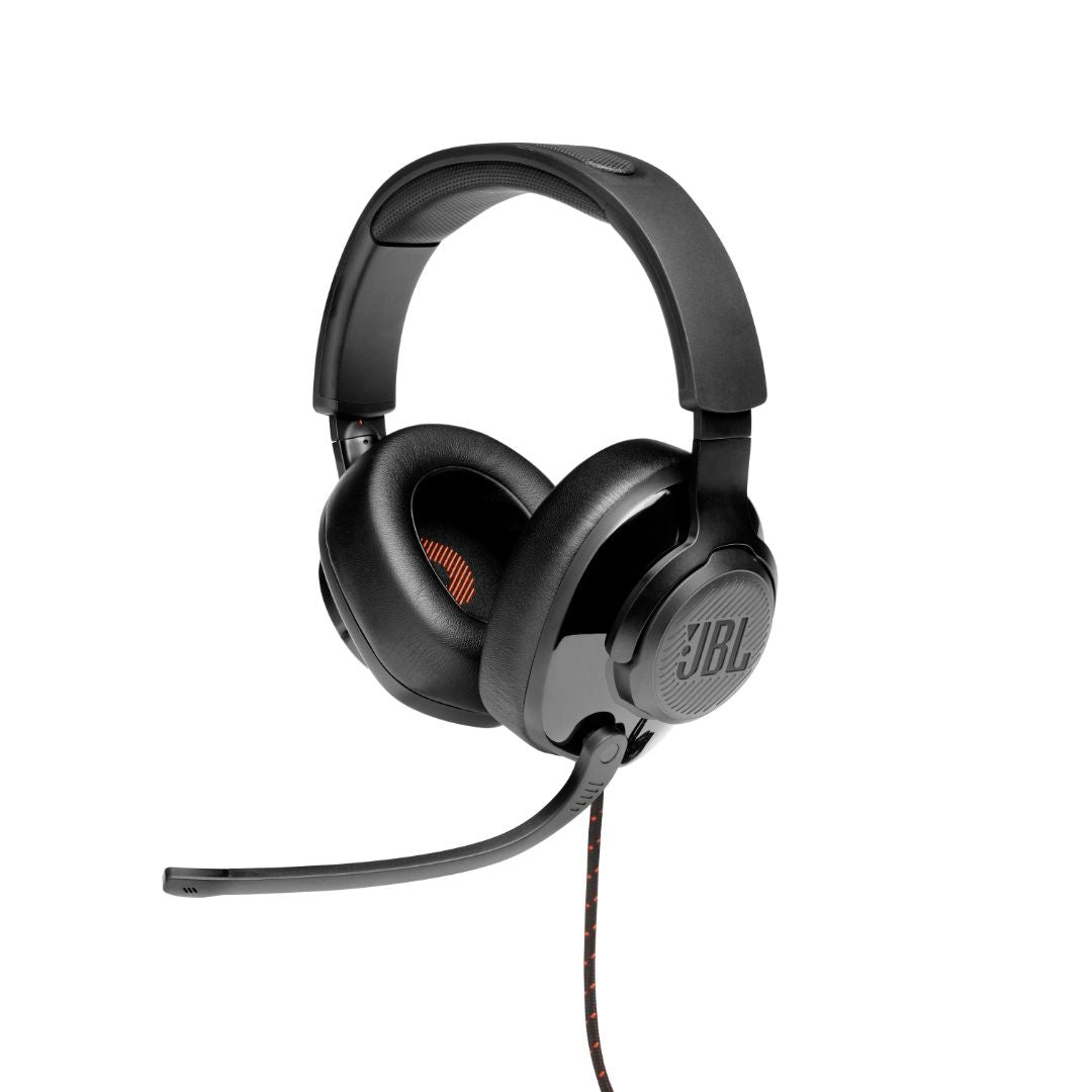 Quantum 200 Wired Over Ear Gaming Headset with Microphone (Black)