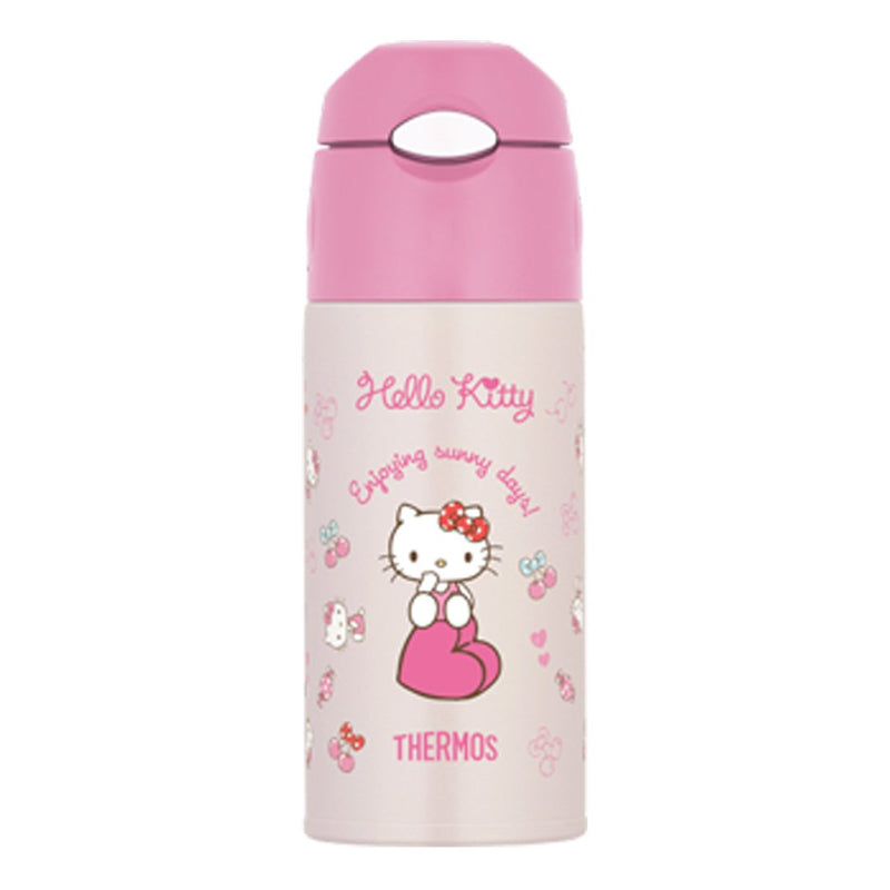 Disney Sanrio Hello Kitty Straw Bottle 0.4L