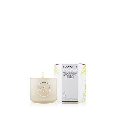 Eco-Luxury Small Glass Candle, 85g