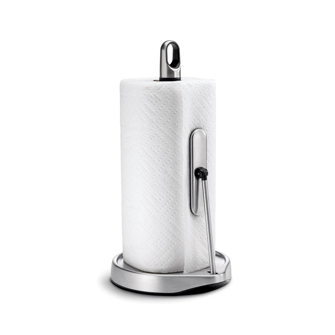 Tension Arm Paper Towel Holder (Brushed)