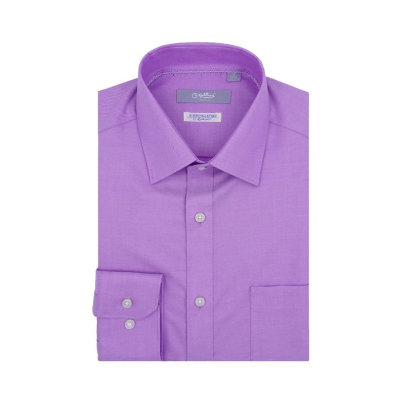 Nanotech Wrinkle Free Long-Sleeved Shirt (Purple)