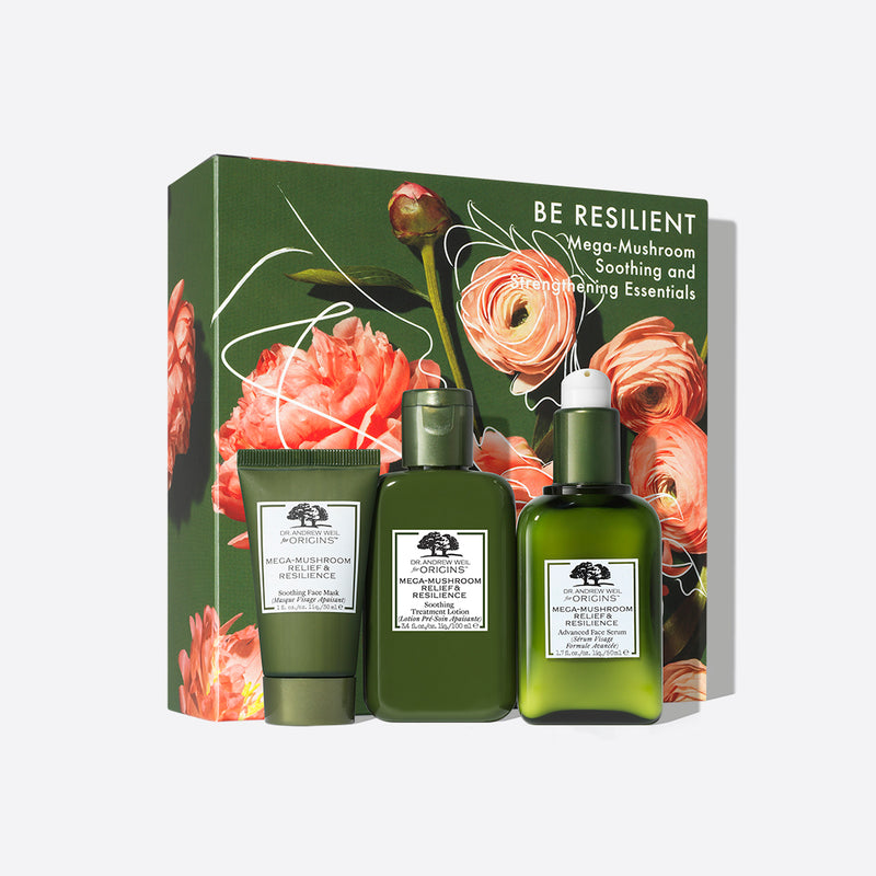 Be Resilient Mega-Mushroom Soothing and Strengthening Essentials Set