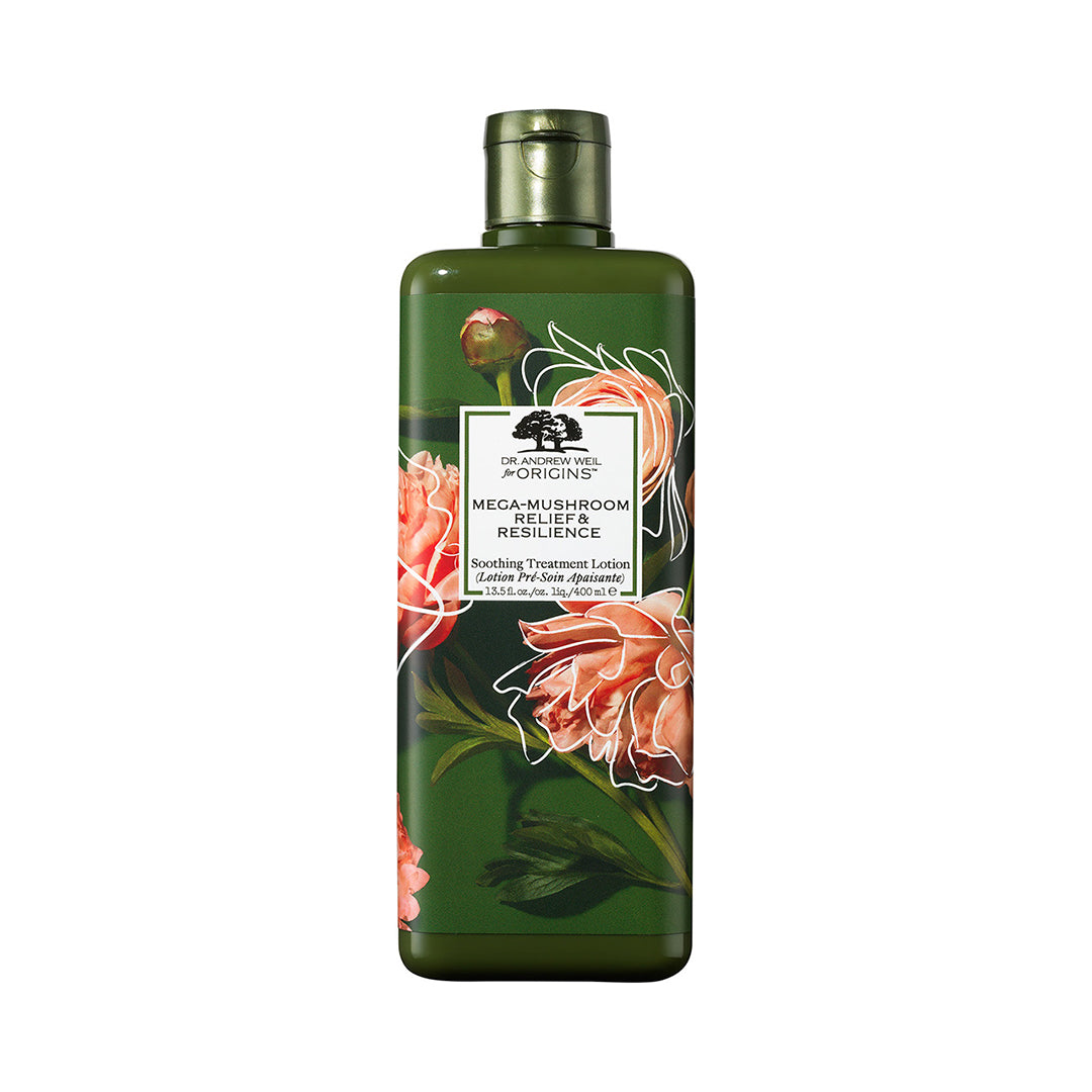 Dr. Andrew Weil For Origins™ Mega-Mushroom Relief & Resilience Soothing Treatment Lotion Earth Month Limited Edition 400ml