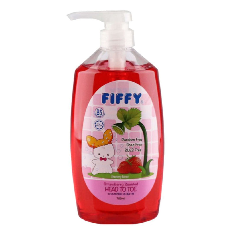 Baby Shampoo & Bath Strawberry (750ml)