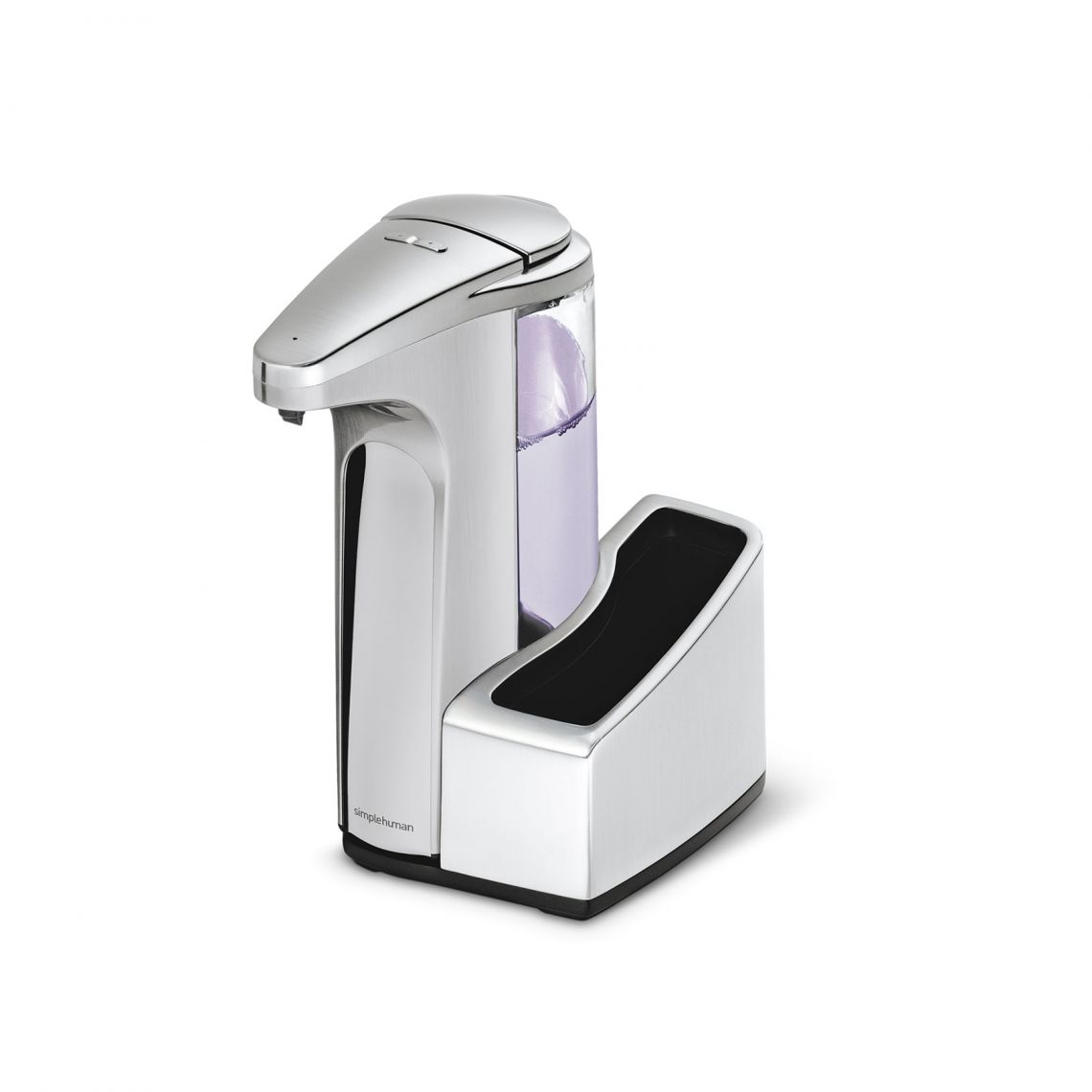 Touch-Free Automatic Sensor Soap Pump With Removable Caddy