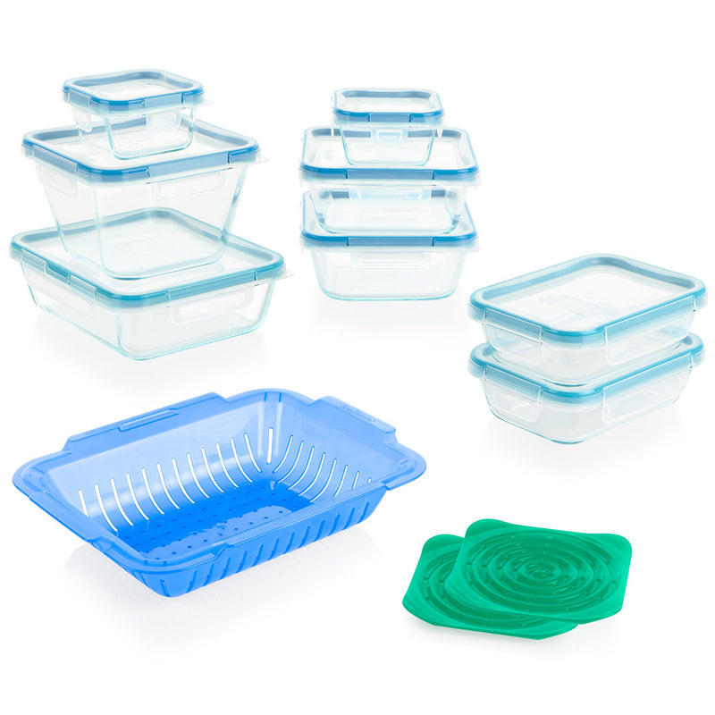 19pc Glass Storage Set