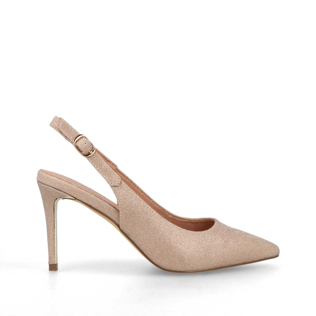 Amato Slingback Pumps (Gold)