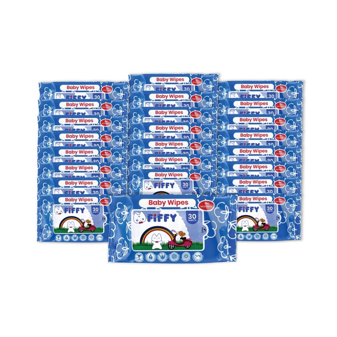 Baby Wipes Calendula 30s 24 Packs