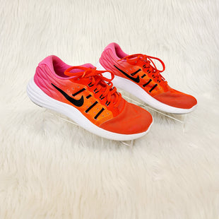 Primary Photo - BRAND: NIKE STYLE: SHOES ATHLETIC COLOR: ORANGEPINK SIZE: 6.5 OTHER INFO: NO RETURNS SKU: 245-24518-77614