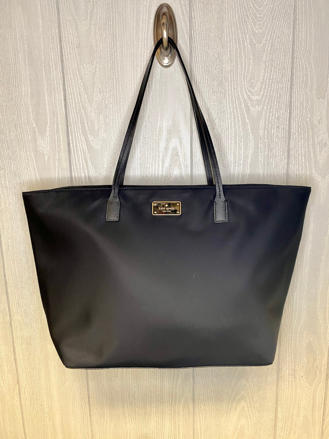 Photo #1 - BRAND: KATE SPADE <BR>STYLE: HANDBAG DESIGNER <BR>COLOR: BLACK <BR>SIZE: MEDIUM <BR>OTHER INFO: BLAKE AVENUE MARGARETA  NO RETURNS <BR>SKU: 245-245202-178