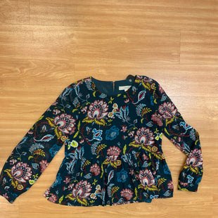 Primary Photo - BRAND: ANN TAYLOR LOFT O STYLE: TOP LONG SLEEVE COLOR: TEAL SIZE: XS OTHER INFO: PINK WHITE LIME GREEN BLUE DESIGN SKU: 245-245199-2594
