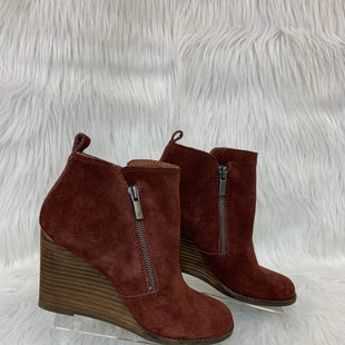 Primary Photo - BRAND: LUCKY BRAND STYLE: BOOTS ANKLE COLOR: BROWN SIZE: 6 OTHER INFO: NO RETURNS SKU: 245-245199-5176