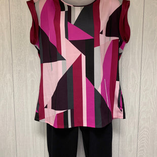Primary Photo - BRAND: NEW YORK AND CO STYLE: TOP SLEEVELESS COLOR: MULTI SIZE: M OTHER INFO: PURPLE,PINK,MAROON,BLACK SKU: 245-24511-15519
