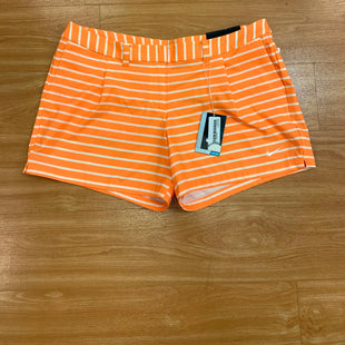 Primary Photo - BRAND: NIKE APPAREL STYLE: ATHLETIC SHORTS COLOR: WHITE ORANGE SIZE: 14 OTHER INFO: NWT SKU: 245-24588-31340