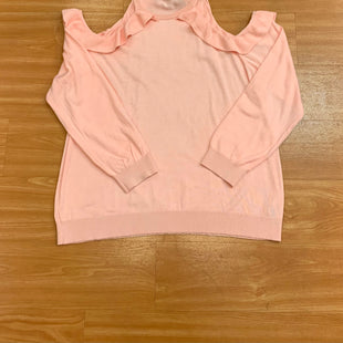 Primary Photo - BRAND: MAURICES O STYLE: SWEATER LIGHTWEIGHT COLOR: PINK SIZE: 2X SKU: 245-245199-654