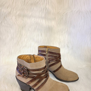 Primary Photo - BRAND: SOFFT STYLE: BOOTS ANKLE COLOR: TAUPE SIZE: 9 OTHER INFO: BROWN- NO RETURNS SKU: 245-245199-3797
