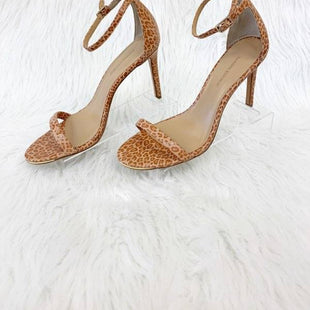 Primary Photo - BRAND: BANANA REPUBLIC STYLE: SANDALS LOW COLOR: ANIMAL PRINT SIZE: 7 OTHER INFO: TAN/PINKISH SKU: 245-24513-78208