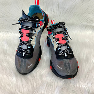 Primary Photo - BRAND: NIKE STYLE: SHOES ATHLETIC COLOR: GREY SIZE: 6 OTHER INFO: NO RETURNS  REACT  LT BLUE NEON PINK SKU: 245-24518-85101