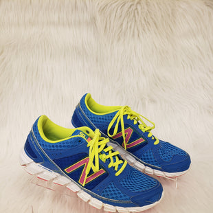 Primary Photo - BRAND: NEW BALANCE STYLE: SHOES ATHLETIC COLOR: BLUE GREEN SIZE: 8.5 OTHER INFO: NO RETURNS SKU: 245-24513-78071
