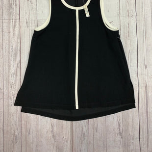 Primary Photo - BRAND: MADEWELL STYLE: TOP SLEEVELESS COLOR: BLACK WHITE SIZE: S OTHER INFO: NWT SKU: 245-245189-16389