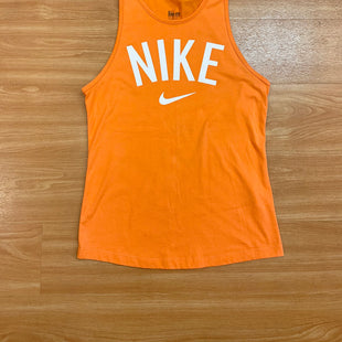 Primary Photo - BRAND: NIKE APPAREL STYLE: ATHLETIC TANK TOP COLOR: ORANGE SIZE: XS SKU: 245-245189-14450
