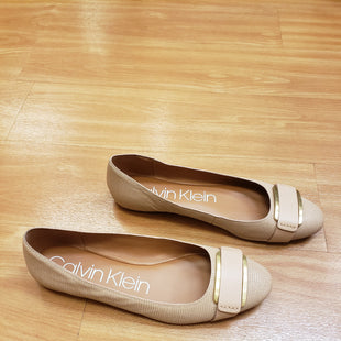 Primary Photo - BRAND: CALVIN KLEIN STYLE: SHOES FLATS COLOR: NUDE SIZE: 10 OTHER INFO: NO RETURNS SKU: 245-24513-79510
