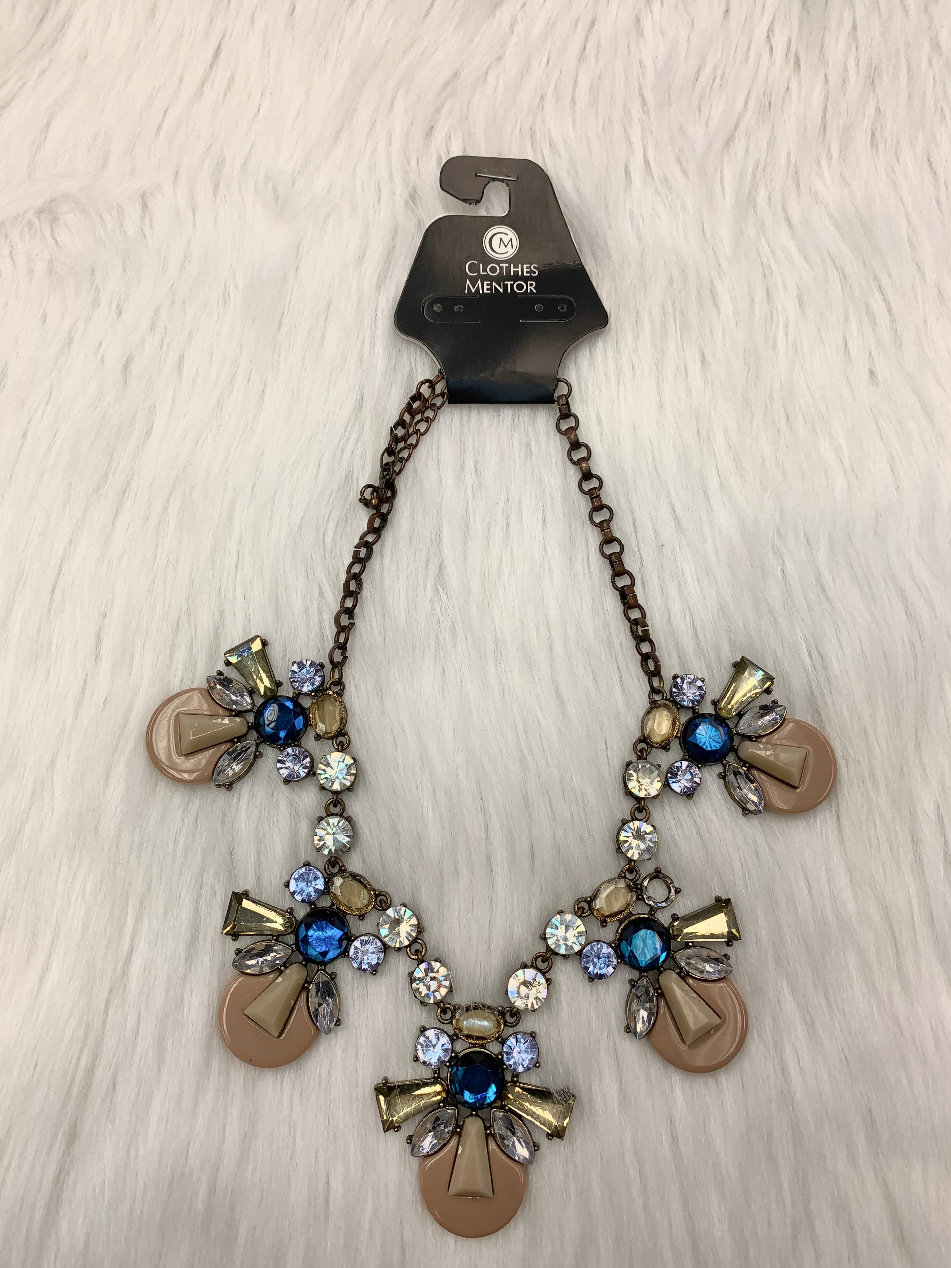 Primary Photo - BRAND:  CME <BR>STYLE: NECKLACE <BR>COLOR: GOLD <BR>OTHER INFO: MULTI STONES NO RETURNS <BR>SKU: 245-24588-30528