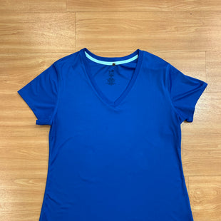 Primary Photo - BRAND: CHAMPION STYLE: ATHLETIC TOP SHORT SLEEVE COLOR: ROYAL BLUE SIZE: 2X SKU: 245-245199-3720