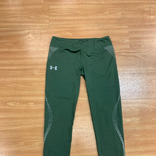Primary Photo - BRAND: UNDER ARMOUR STYLE: ATHLETIC PANTS COLOR: OLIVE SIZE: S SKU: 245-24513-82694