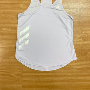 Primary Photo - BRAND: ADIDAS STYLE: ATHLETIC TANK TOP COLOR: LILAC SIZE: M SKU: 245-24518-79780